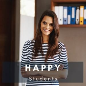 Happy students at edulyte