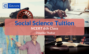 Learn Social Science Live : Classes for 6th standard
